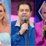 xuxa eliana faustao - Nas redes sociais, internautas pedem Xuxa, Angélica e Eliana para substituir Faustão na Globo