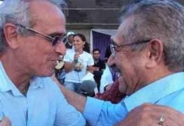 """Cicero Lucena lamenta morte de José Maranhão: """"o peito inundado de lágrimas"""""""
