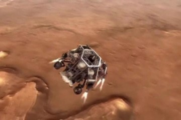 9280703 640x360 - Primeiro vídeo do robô da NASA mostra pouso arriscado em cratera de Marte