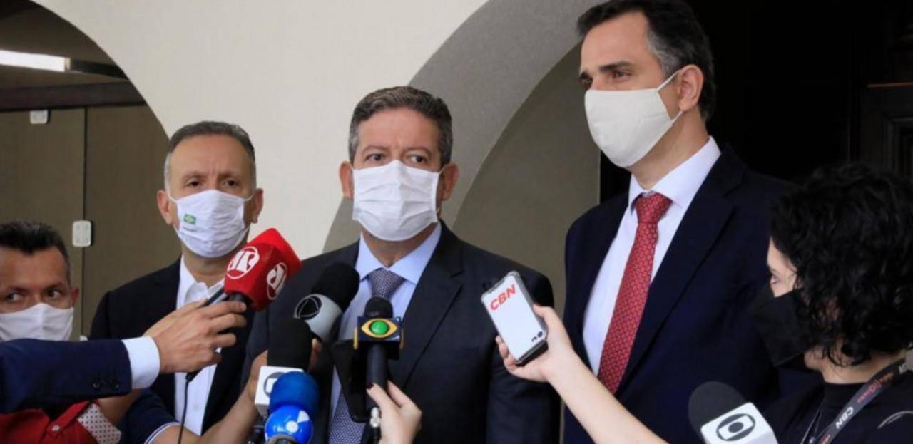 AGUINALDO - 'TEMA PRECISA DE UNIÃO': Aguinaldo Ribeiro se reúne com Arhur Lira e Rodrigo Pacheco para discutir Reforma Tributária