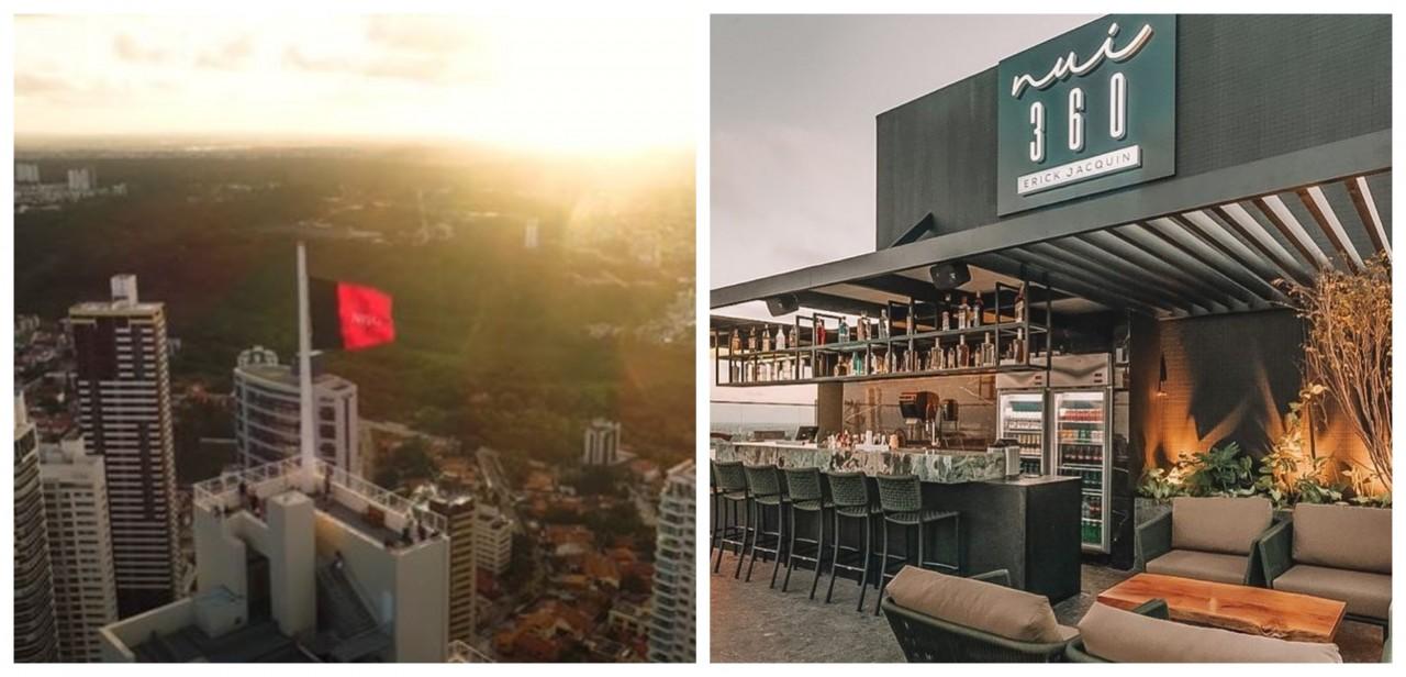 BeFunky collage 1 - NAS ALTURAS: João Pessoa se destaca por seus restaurantes panorâmicos; conheça o Sky Bar JPA e o NUI 360