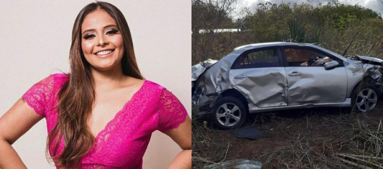 BeFunky collage 2 - TRAGÉDIA: Grave acidente na BR 104 mata filha do secretário de Educação de cidade paraibana