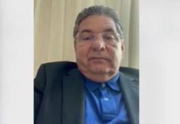 """Adriano Galdino lamenta morte do senador Maranhão: """"política perde um grande exemplo e eu perdi um amigo"""" – VEJA VÍDEO"""