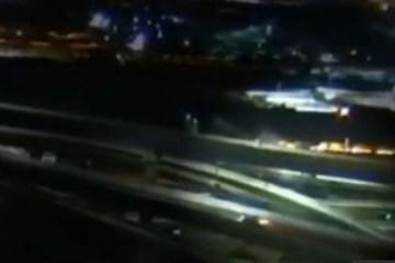 """Motorista bêbada bate em muro de viaduto e """"voa"""" de altura de 30 metros"""