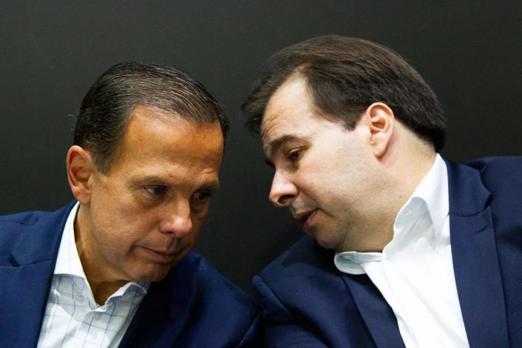 FUP20190208435 1024x682 1 - Próximo de deixar o DEM, Maia recebe convite de Doria para se filiar ao PSDB