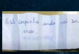 """BRINCADEIRA DE MAU GOSTO: Idosos recebem bilhete com número de funerária e recado """"esse corpinho vai ser meu"""""""