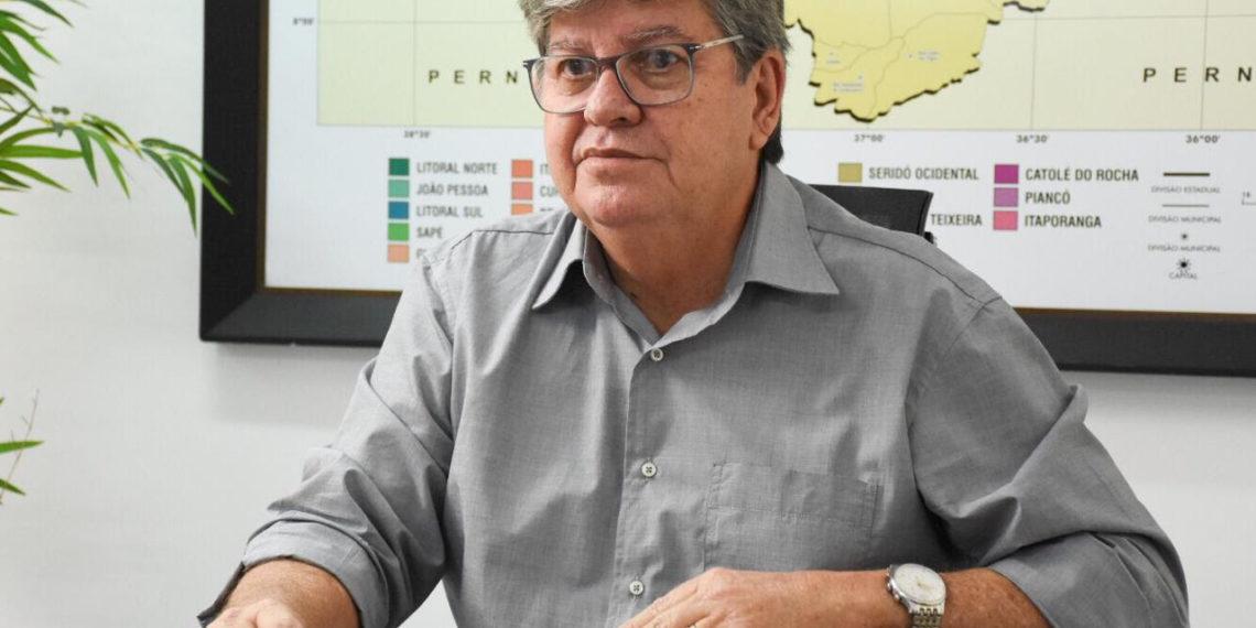 """JOAO 1140x570 1 - João Azevêdo não descarta Secretaria para o PT na gestão estadual: """"Estou esperando que o PT solicite uma reunião conosco"""""""