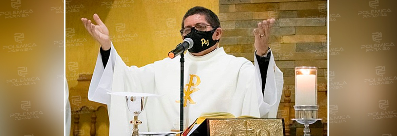 """WhatsApp Image 2021 02 02 at 13.09.40 - NA PARAÍBA! Durante missa, padre destila LGBTfobia: """"Que aberração. Quer empurra goela a dentro o LGBT""""- VEJA VÍDEO"""