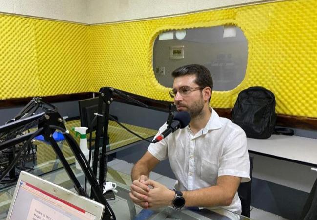 WhatsApp Image 2021 02 10 at 15.41.06 - ALIANÇAS POLÍTICAS: 'Aprendi como meu pai que a gente constrói conversando e ouvindo', diz Michel Henrique