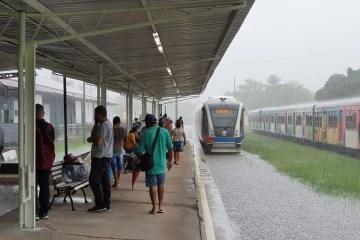 FORTES CHUVAS: CBTU emite nota e informa que o tráfego de trens está temporariamente suspenso