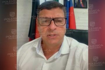 WhatsApp Image 2021 02 26 at 11.51.52 - Prefeito de Cabedelo alerta cidadãos e pede para que fiquem em casa durante as chuvas - VEJA V ÍDEO