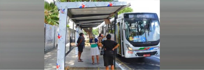 abrigos epitacio - Avenida Epitácio Pessoa ganhará 40 novos abrigos nos pontos de ônibus