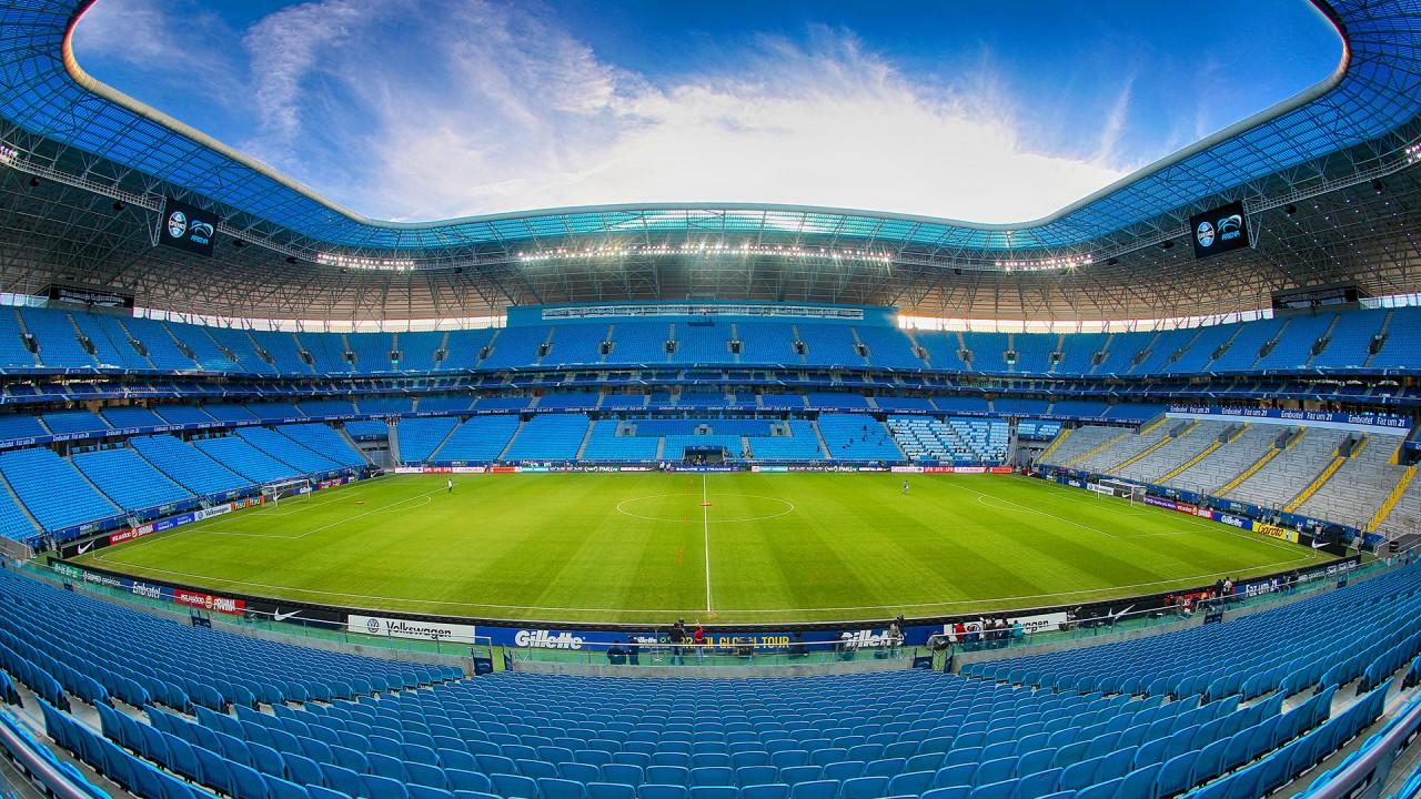 arena do gremio - Grêmio e Palmeiras abrem decisão da Copa do Brasil neste domingo