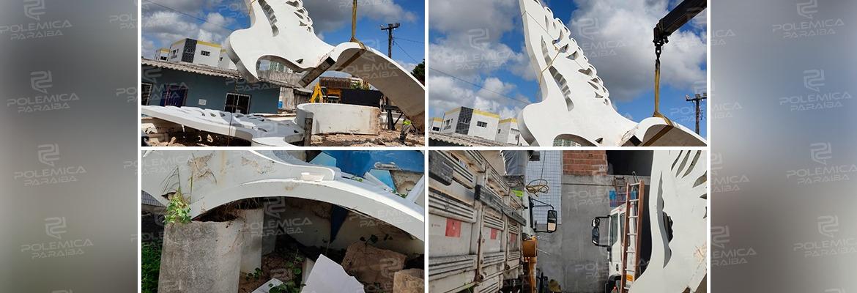 """bdb58cf9 2961 46c7 a8b5 744d5f9d1301 - """"OS PÁSSAROS VOLTAM A VOAR"""": a escultura """"Aves de Arribação"""" será restaurada e fará novamente parte da cidade de João Pessoa"""