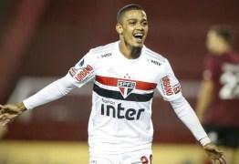 São Paulo vai receber R$ 81 milhões com a venda de Brenner a clube dos EUA