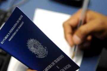 carteira de trabalho 07122000711 - Desemprego recua para 13,9% no 4º trimestre, segundo o IBGE