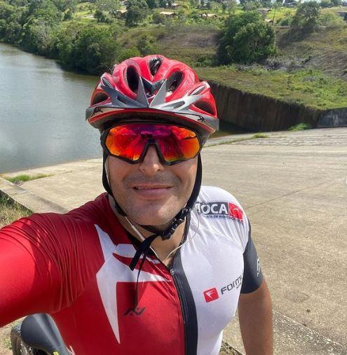 ciclismo - Vítima da Covid-19: empresário Pablo Estrela era cheio de vida e amor pela família