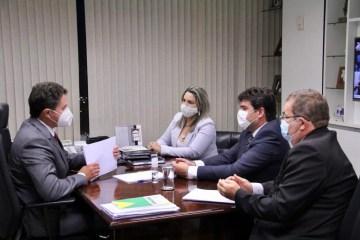 e923a75c 633e 4be7 aef9 3fccc834518e - Eduardo participa de reuniões no Palácio do Planalto e com o vice-presidente do Senado em busca de recursos para municípios