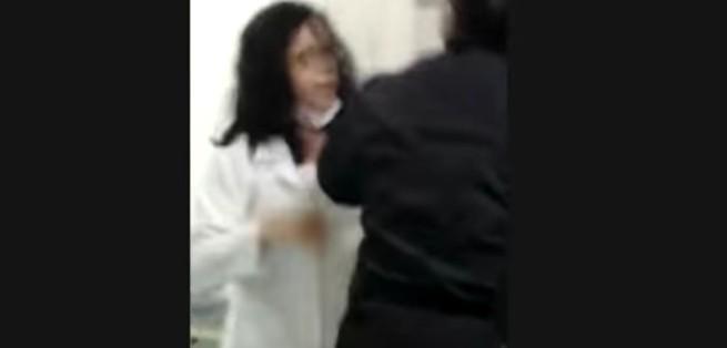 imagem 2021 02 24 221813 - Médica agride acompanhante e se recusa a atender idosa - VEJA VÍDEO