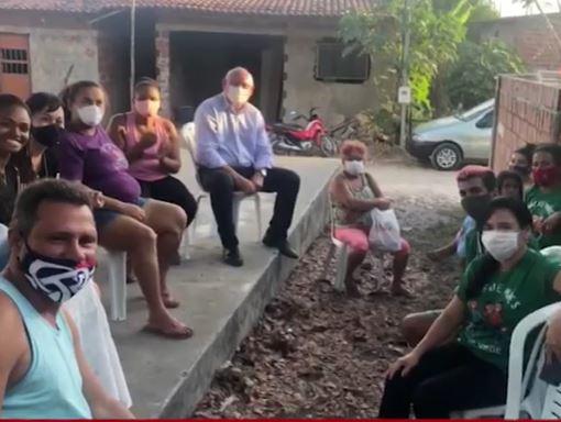 marcos - Projeto Mandato Itinerante debate demandas na comunidade do Aratu