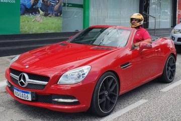 """Empresário paraibano viraliza após comprar carro de luxo e não caber no veículo: """"Era um sonho"""" – VEJA VÍDEO"""