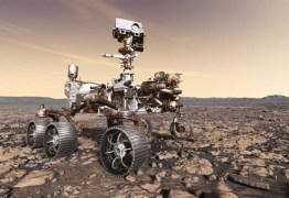 Assista um compacto do pouso do robô Perseverance em Marte