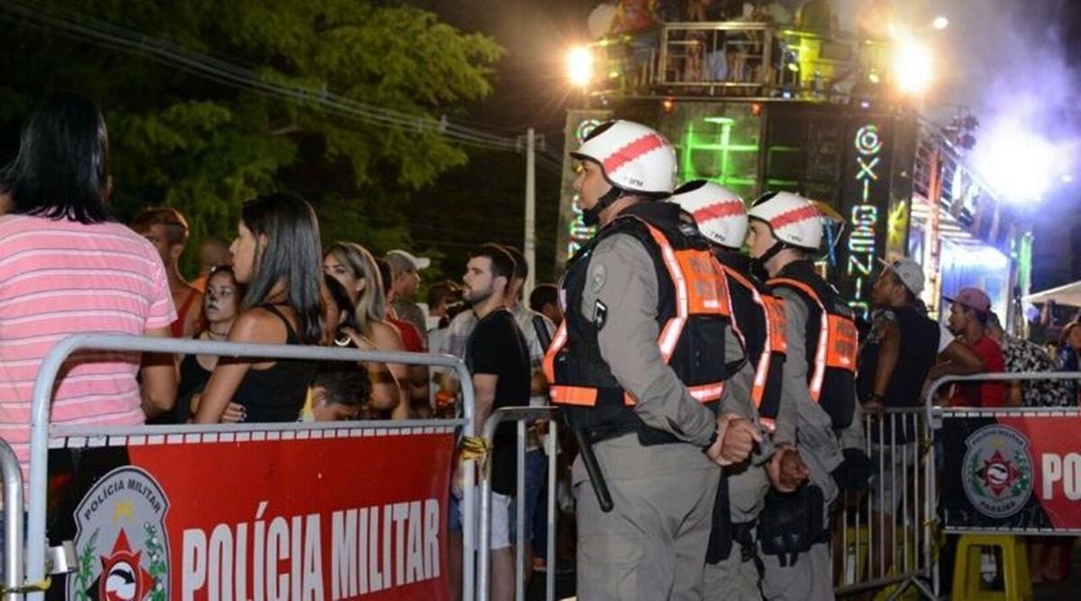 policia militar carnaval bloco folia de rua joao pessoa paraiba - OPERAÇÃO PREVINA-SE: 1.500 policiais e 422 viaturas farão segurança no período do Carnaval na Paraíba