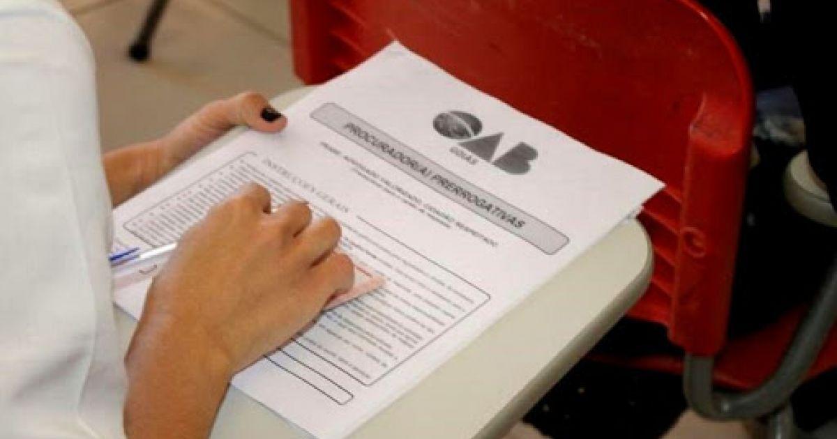 prova oab - Exame da OAB é suspenso em todo o país devido ao aumento de casos de covid-19