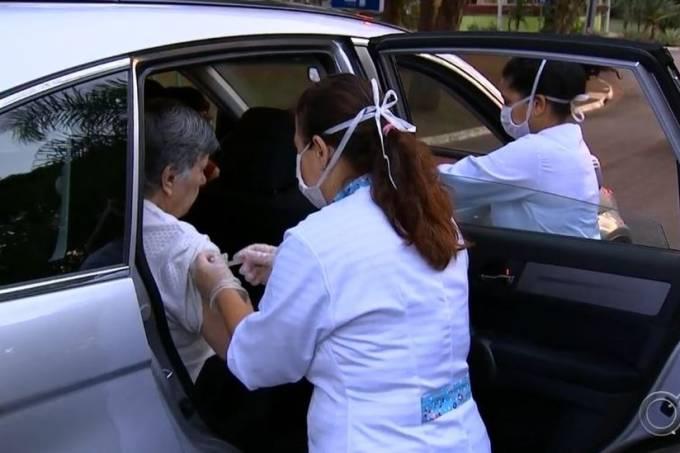 vacina jundiai - COVID-19: Vacinação por sistema de drive thru é retomada nesta segunda-feira em João Pessoa