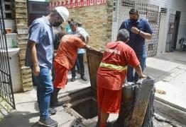 Fiscalização encontra ligações clandestinas de esgoto no Mercado Central de JP