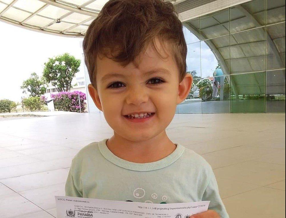 whatsapp image 2021 02 22 at 10.01.00 e1614021412437 - EM CAMPINA GRANDE: após três dias hospitalizado, menino que ingeriu líquido de colírio, recebe alta