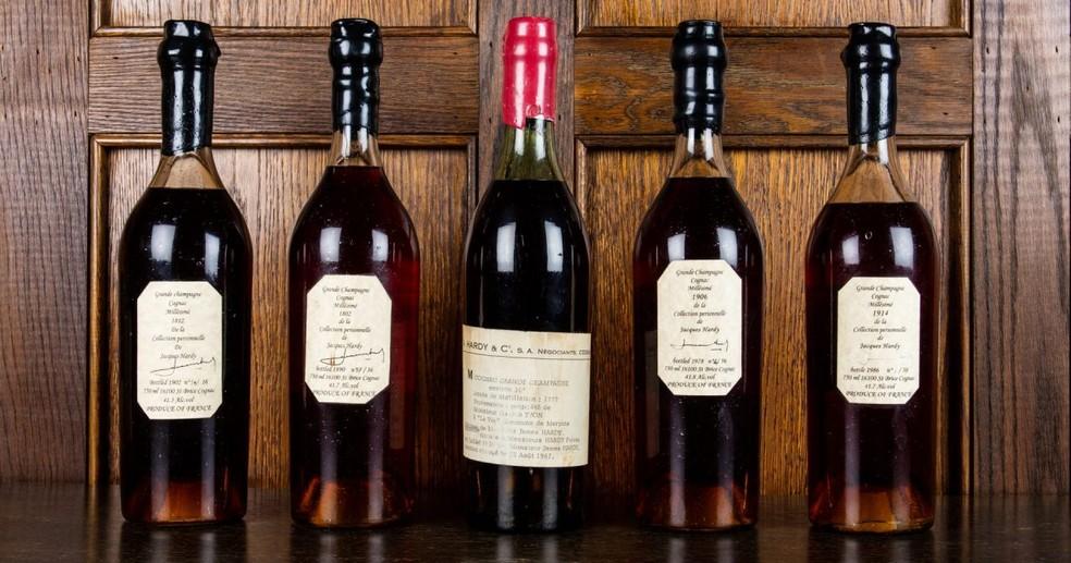 whisky - Conhaque francês de 1777 é leiloado por mais de R$ 300 mil