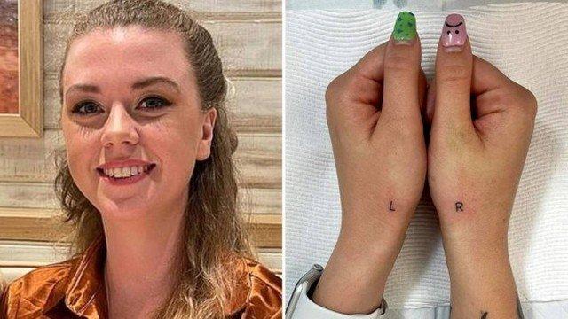 xblog hands.jpg.pagespeed.ic .McK2uxgzKu - Universitária tatua as iniciais de 'direita' e 'esquerda' nas mãos para não se confundir mais