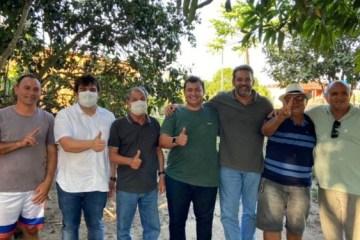155426254 767288014164532 6316688158685592745 n 750x375 1 - Eduardo Carneiro se reúne com ex-prefeito Roberto Feliciano em Sapé e lideranças locais para debater parcerias e demandas para região