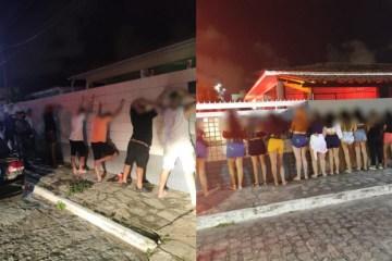 1615136842962721 - 50 PESSOAS SEM MÁSCARAS: Polícia encerra festa clandestina regada a bebidas e drogas em João Pessoa
