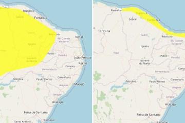 RAIOS E ALAGAMENTOS: Inmet coloca João Pessoa e mais 63 cidades sob alerta para chuvas na Paraíba