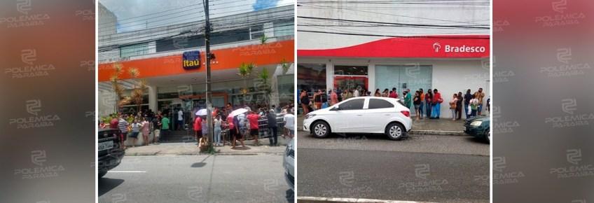 5190d026 2f55 4273 bf73 23d7afed6720 - Demissão ou adoecimento de funcionários pode ser motivo para filas gigantes e aglomerações em bancos na Paraíba