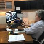8e844e02 fbf7 4f96 9856 0e76fbee0109 - João Azevêdo discute logística de vacinação para o mês de março com prefeitos da Grande João Pessoa