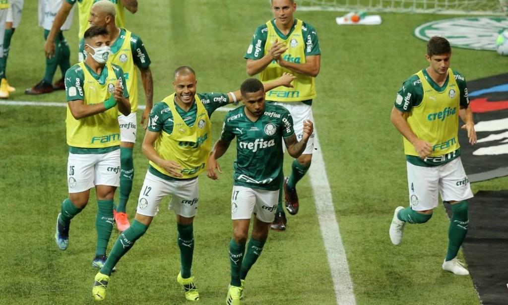 91918074 Soccer FootballCopa do BrasilFinalSecond LegPalmeiras v GremioAllianz Parque 1024x615 - QUARTO TÍTULO: Palmeiras conquista a Copa do Brasil e o Fluminense comemora