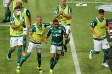 91918074 Soccer FootballCopa do BrasilFinalSecond LegPalmeiras v GremioAllianz Parque - QUARTO TÍTULO: Palmeiras conquista a Copa do Brasil e o Fluminense comemora