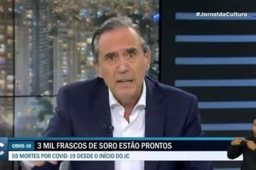 Antonio Villa - 'Obsessão': Marco Antonio Villa analisa o envio de comitiva a Israel para análise de spray contra Covid-19