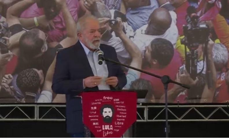"""Capturar.JPGOOOO - Lula após anulação de processos: """"Fui vítima da maior mentira jurídica contada em 500 anos de história do Brasil"""" - VEJA VÍDEO"""