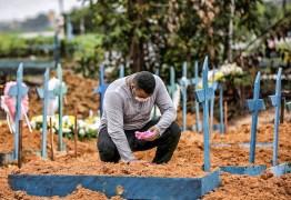 TRÁGICO NÚMERO: Brasil bate recorde e registra 4.249 mortes por Covid-19 em 24 h