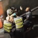 MULHER AGREDIDA - Toque de recolher: policial de SP dá tapa no rosto de mulher; VEJA VÍDEO
