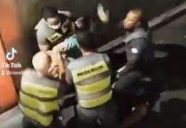 Toque de recolher: policial de SP dá tapa no rosto de mulher; VEJA VÍDEO