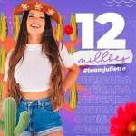 WhatsApp Image 2021 03 04 at 18.38.41 - SUCESSO! Paraibana Juliette atinge 12 milhões de seguidores no Instagram e se torna a segunda participante mais seguida