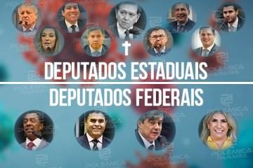 COVID NA PARAÍBA: saiba quais os deputados Federais e Estaduais do estado já foram infectados pelo vírus