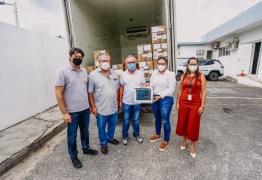 Prefeitura de João Pessoa recebe 40 novos respiradores e trabalha para abertura de 24 novos leitos de UTI