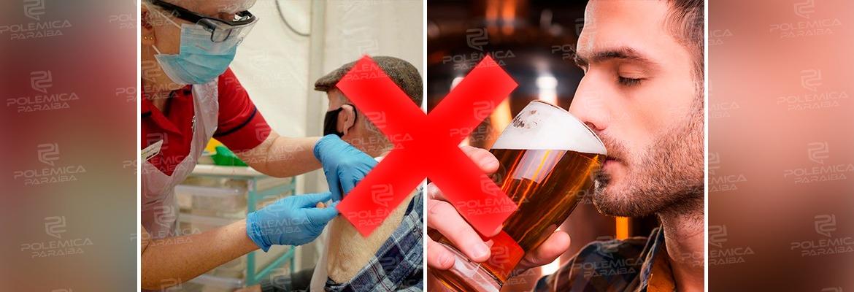 WhatsApp Image 2021 03 23 at 14.22.50 - VACINAÇÃO x ÁLCOOL: Pode ingerir bebida alcoólica após tomar a vacina contra a Covid-19?! Especialistas explicam; confira