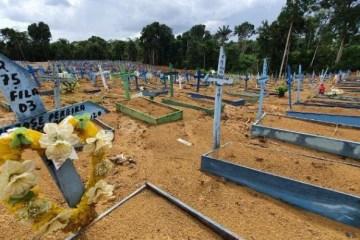 cemiterio - Em pior fase da pandemia, covid causa 1 a cada 4 mortes naturais do país